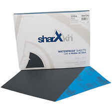 "Wet & Dry Sandpaper Sheets 9"" x 11"" Ideal for Car Repair 50 Pack Grit P320"
