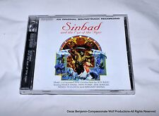 Sinbad and the Eye of the Tiger-Compact Disk-Roy Budd-Cinephile Label RARE!