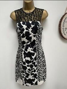 FRENCH CONNECTION Black & White Dress - Size 8