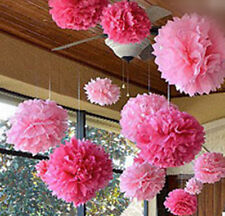 "20pc Tissue Paper Pom Flowers Balls Romantic Wedding Party Decoration 6"" Hotsale"