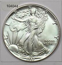 1987 Silver Eagle 104044 *SFCOIN