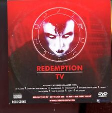Rock Sound - Play.com - DVD /  Redemption TV - Card Sleeve