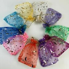50pcs ORGANZA BAGS Wedding Party Favour Gift Candy Jewellery Pouch Large Small