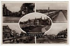 MORETON MERSEYSIDE RPPC Real Photo Postcard WIRRAL PENINSULA UK England