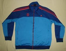 Stoke City FC / 2012-2013 - ADIDAS - MENS zip-up Top / Track Jacket. Size: 2XL