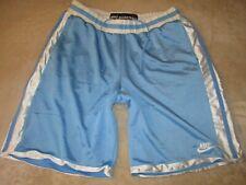 Mens - NIKE BASKETBALL - Gym Shorts Carolina Aqua Blue White XL Air Mesh Jordan