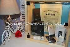 Apple iPhone 1st 2G 8GB ORIGINAL iOS 1 IMEI BOX MATCH Collection Accessory Rare
