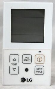 Original LG Air Conditioner Remote AKB73996902 MEZ63337804 PQRCVCL0QW PQRCVCL0Q