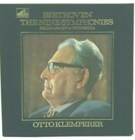 BEETHOVEN  - The Nine Symphonies (Otto Klemperer) HMV - SLS 788/9 RARE BOX SET