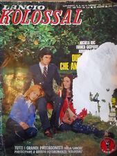 Due Ragazze che amavano Johnny Gasparri Kolossal Suppl. Letizia 212 1973  [C98]
