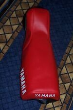 YAMAHA YZ60 replacement seat cover 1980 1981 1982 1983 swept nose RED or BLACK