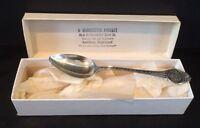 VTG Manchester Silver Co. Sterling Silver W. Virginia Souvenir  Spoon 10.2 grams