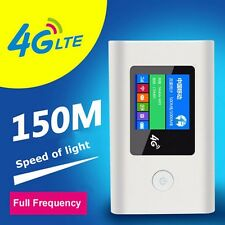 Portable Unlock 150Mbps LTE 4G Wireless Router 4G/3G Mobile WiFi Hotspot