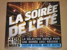BOITIER 4 CD / LA SOIREE DE L'ETE / NEUF SOUS CELLO