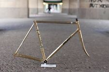 Francesco Moser ORO Aero Columbus Tubes Race Bike Frame Campagnolo gold plated œ