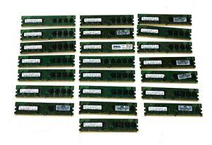 Samsung 22 x 1GB 2Rx8 PC2-5300U-555-12-E3 Set of 4 RAM memory
