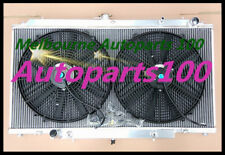 FOR NISSAN RADIATOR&Fan GU PATROL Y61 Diesel 4.2L Turbo 3 ROW ALUMINUM AT/MT