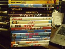 (15) 80's Comedy DVD Lot: Vacation Caddyshack Goonies Gremlins Spaceballs & MORE