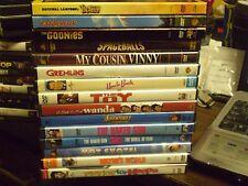(15) 80's Comedy DVD Lot: Vacation Caddyshack Goonies Gremlins Spaceballs & MORE