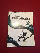 Disney's Epic Mickey Prima's Official Strategy Game Guide Softback Book