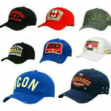 Neu Icon Cap Kappe Dsquared2 Dsq2 mit Etikette Cap Baseballmütze Xmas gift