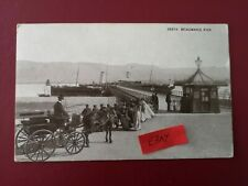 More details for postcard anglesey -  beaumaris pier - early 1900's.