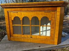 Tiger Maple Corner Cupboard Inspired from 1665 Olde York Maine (New)
