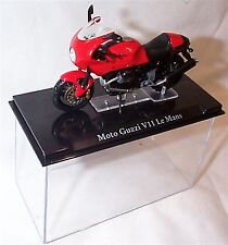 Atlas motor bike Moto Guzzi V11 Le Mans 1-24 Scale New in Case