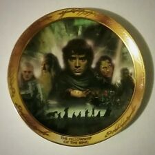 The fellowship of the Ring Collector's Plate (used, great condition)