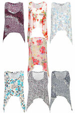 Scoop Neck Floral Cropped Vest Top, Strappy, Cami Women's Tops & Shirts