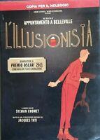 L'ILLUSIONISTA (2010)  OSCAR 2011 MIGLIOR FILM D'ANIMAZIONE - DVD EX NOLEGGIO