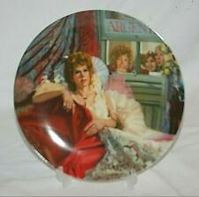 1986 Knowles Collectors Plate Annie & Miss Hannigan William Chambers Coa 5052C