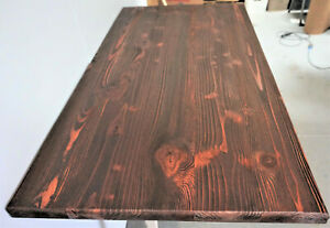 """Table Top,Rustic Reclaimed Wood Dining Table top 48""""x 24""""x 1.5"""" Mahogany colors"""
