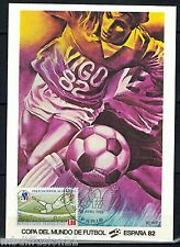 1982//**FDC.CP 1°JOUR**COUPE DU MONDE-FOOTBALL-VIGO.1982**TIMBRE Y/T 2209