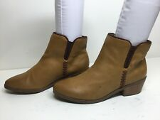 WOMENS MASSINI SHORT CASUAL BROWN BOOTS SIZE 8 M