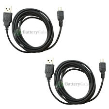 2 USB 6FT Cable for Phone Motorola RAZR RAZOR V3 V3C V3i V3M V3R V3S V3T V3XX