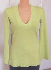 APART Pullover  55% Seide gelb Größe 34-36