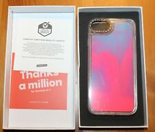 Casetify Liquid Neon Sands Pink & Blue Phone Case Iphone 6 7 8 NIB