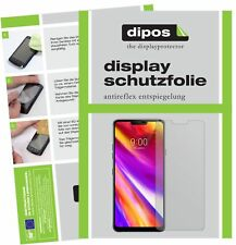 2x LG G7 ThinQ Screen Protector Protection Anti Glare dipos