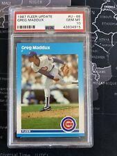 New listing 1987 Fleer Update Greg Maddux Chicago Cubs #68 Baseball Card PSA 10