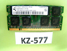 Qimonda 1GB RAM 2Rx8 PC2-5300S-555-12-E0 HYS64T128021EDL-3S-B2  #KZ-577