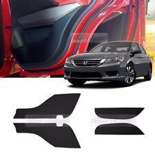 Carbon Door Decal Sticker Cover Kick Protector for HONDA 2013-2016 Accord Sedan