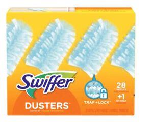 Swiffer Dusters Dusting Kit 28 Refills + 1 Handle (2020 New)