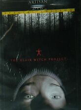 The BLAIR WITCH PROJECT (1999) Special Edition Michael Williams Heather Donahue