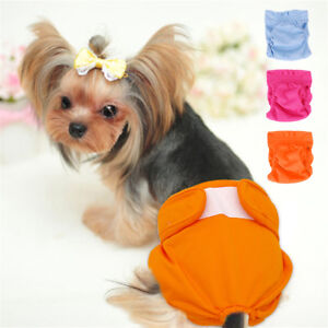 Dog Sanitary Nappy Diaper Pet Physiological Pants Shorts Underwear for Dogs S-L