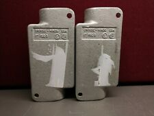 """""""Lot of 2"""" Crouse Hinds 1"""" FSC3, Cast Iron Device Box -New/Old Stock"""
