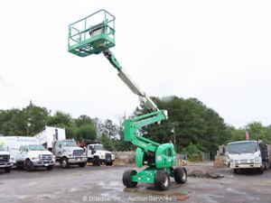 2011 JLG 450A 45' 4WD Articulating Telescopic Boom Man Lift  Aerial bidadoo