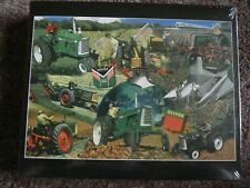 OLIVER FINEST IN FARM MACHINERY Tractor Puzzle-NIB