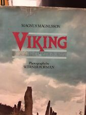 VIKING HAMMER OF NORTH By Magnusson Magnus - Hardcover Hard To Find 1976