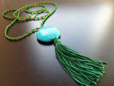 Modeschmuck-Halsketten & -Anhänger im Collier-Stil mit Türkis-Hauptstein für Damen
